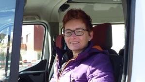Rita Kiser, Schulbusfahrerin